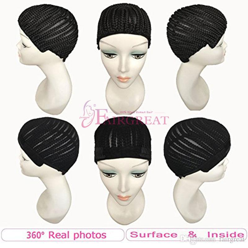 Braided cap for crochet braids or weaves adjustable straps diy braided cap for crochet braids or weaves adjustable straps diy hair wig weaving cap one size fit all net mesh full cap make wig cap adjustable wig cap from pmusecretfo Images