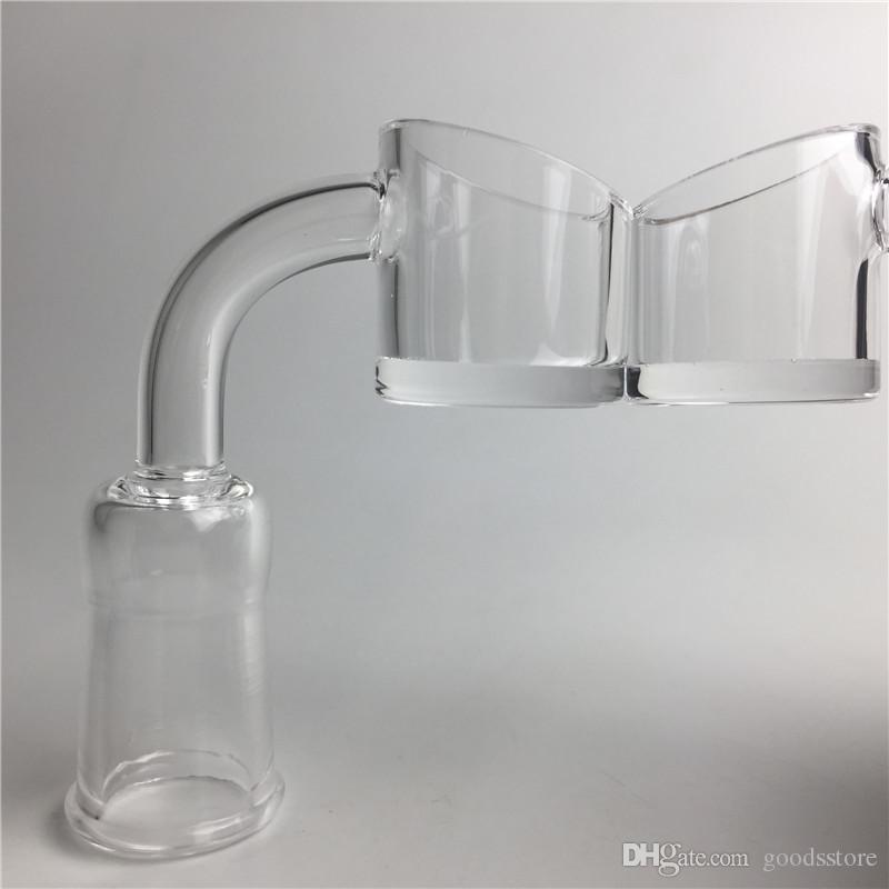 10mm 14mm 18mm Quartz Banger Nail with 4mm Thick Bottom XL Honey Bucket Evan Shore Core Reactor Banger Quartz Nails for Water Bong