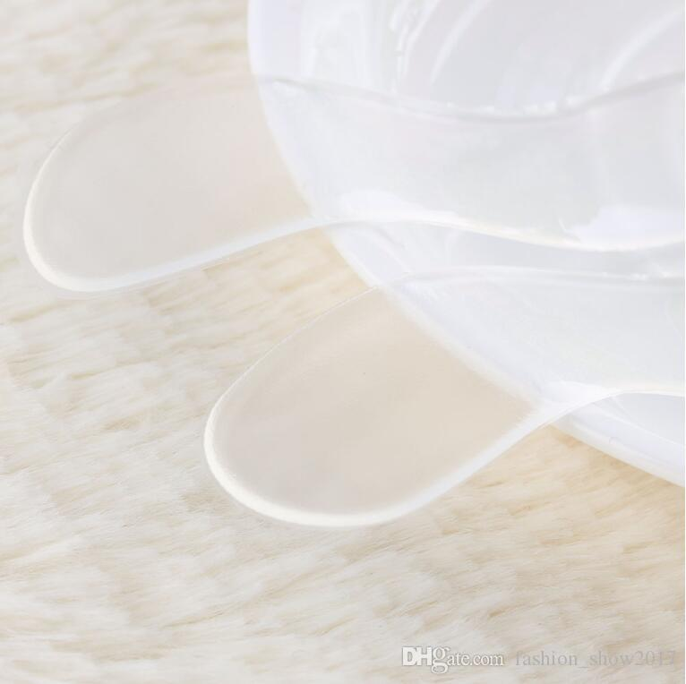 New Fashion Insoles for Shoes Silicone Gel Heel Cushion protector Shoe Insert Pad Insole drop ship