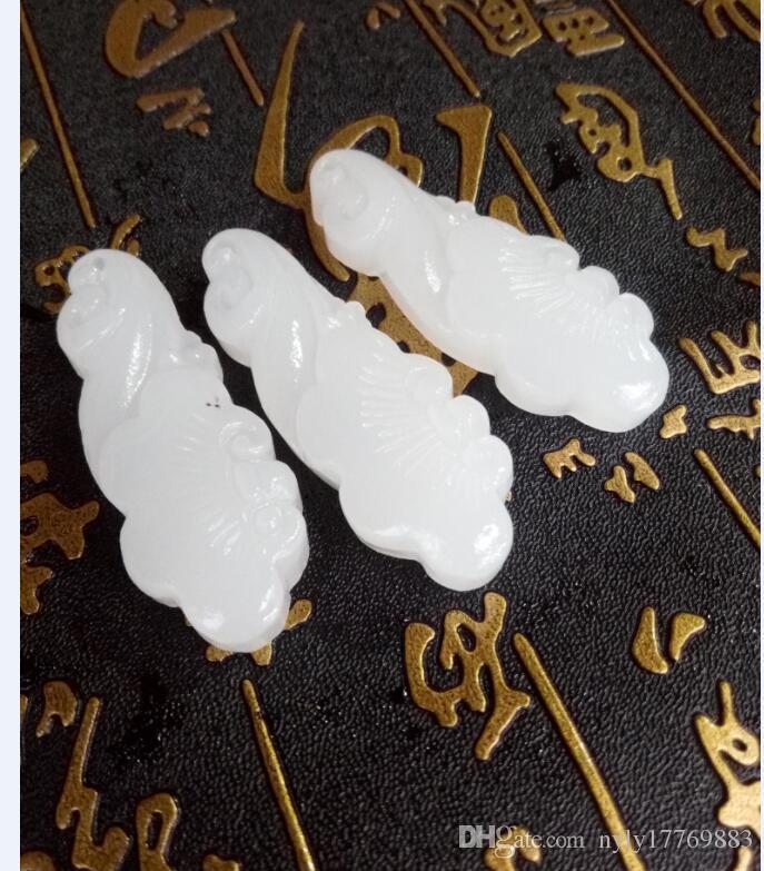 Cina xinjiang e tian bai yuyu ruyi pendente consegna gratuita D1