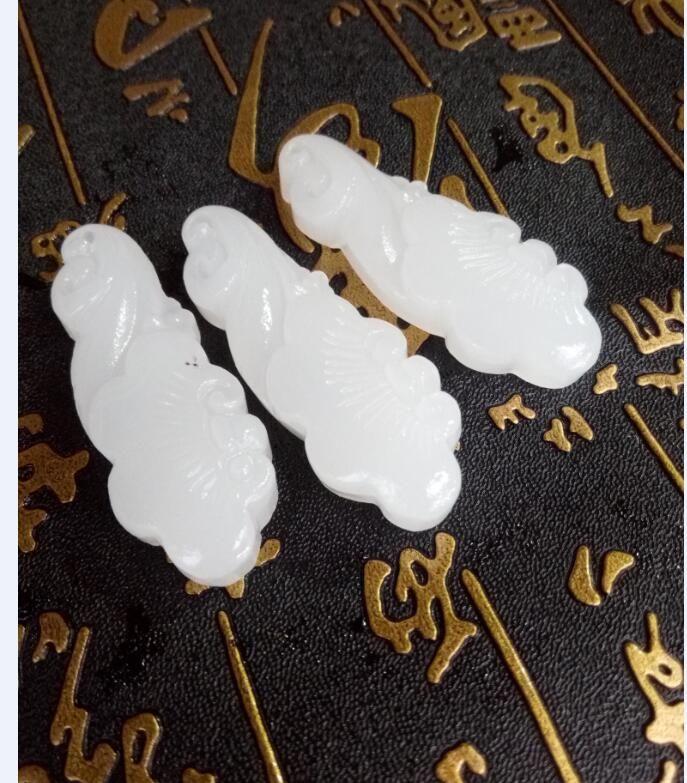 Синьцзян Китая и Тянь Бай Юй жуйи кулон бесплатная доставка D1
