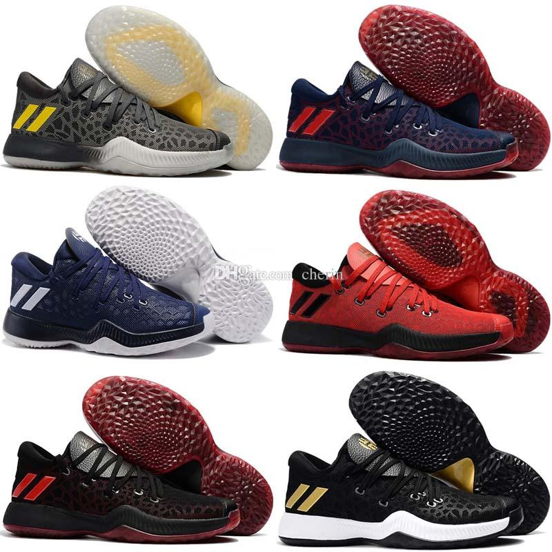 daa1e956e63 2017 New Arrival James Harden Vol 2 Basketball Shoes Mens Harden Vol.2  Sneakers For Sale Size 40 46 Top Running Shoes Running Shoes Online From  Cherin