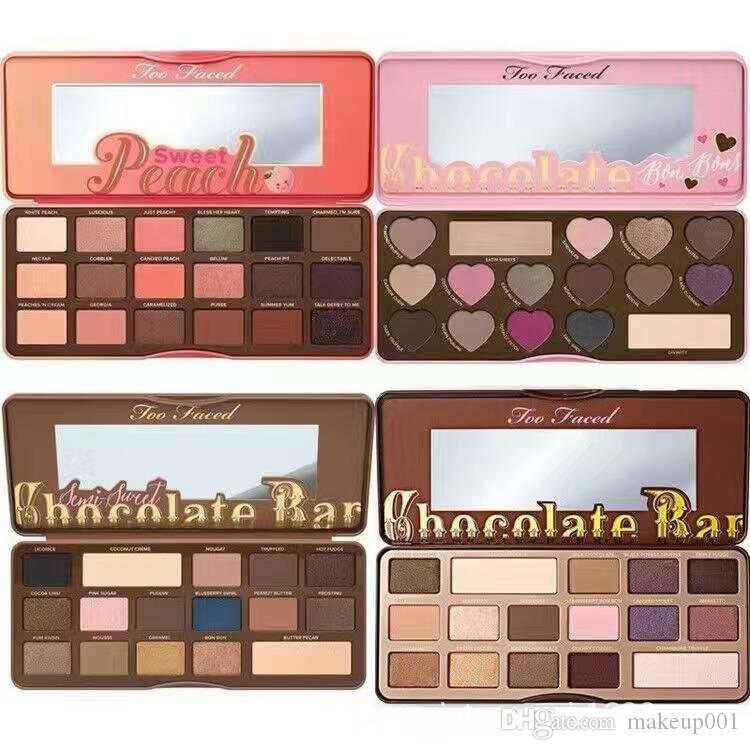 Makeup Palettes New Arrival Too Makeup Faced Bon Bons Chocolate Bar Eyeshadow Palette Eyeshadow Love Heart How To Clamour Guide Best Makeup Eyebrow Makeup From Makeup001 4 83 Dhgate Com