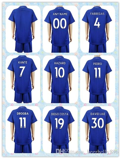 the best attitude 0d6a0 d6329 youth 15 16 chelsea jersey soccer uniform short sleeves home ...