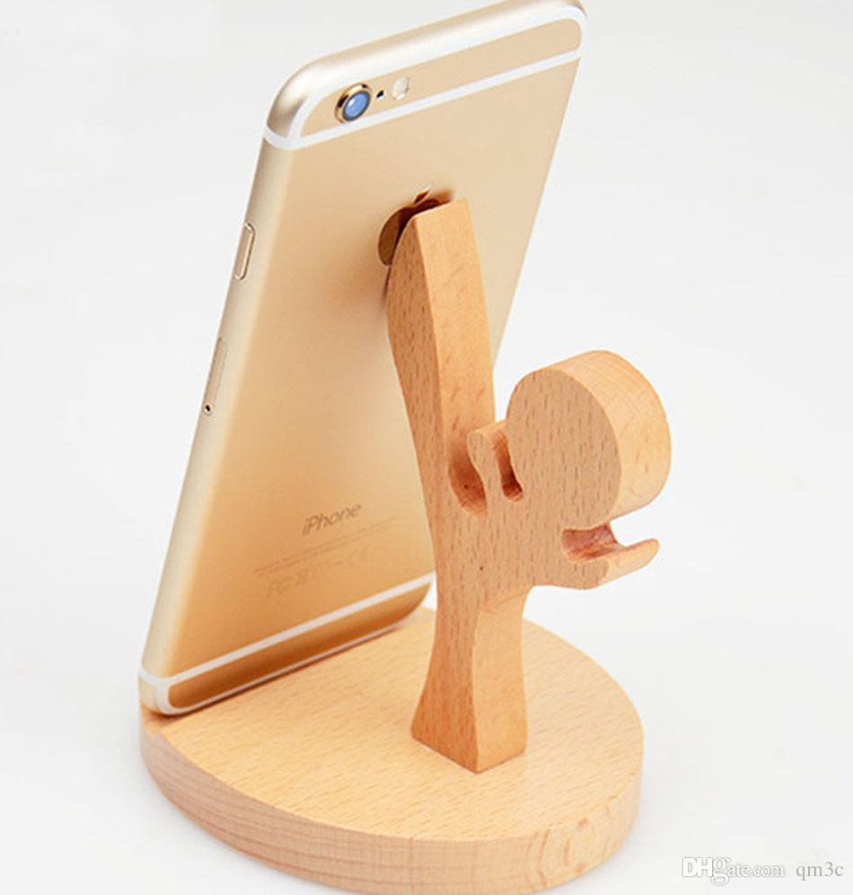 2018 New Design Real Wooden Stand Holder