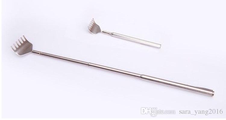 Healthy Back Scratcher Stainless Telescopic Portable Extendable Handy Pocket Pen Clip Back Scratcher wa3890