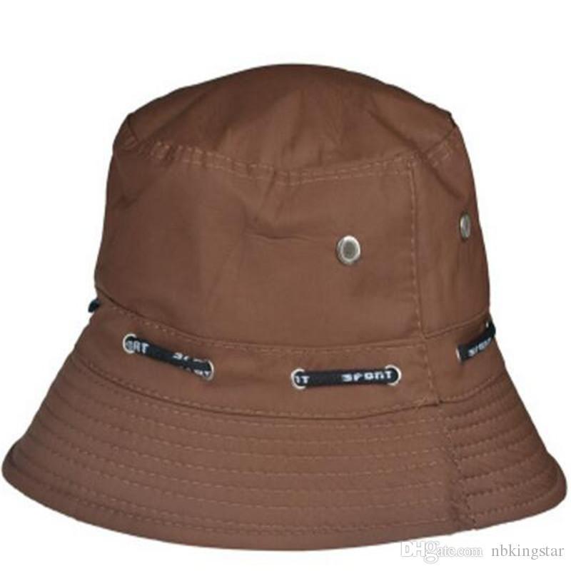 2017 neue Sommer Hut Schnell Trocknend Atmungsaktive Sonnenhüte für Männer Frauen Sport Klettern Fisch Panama Caps