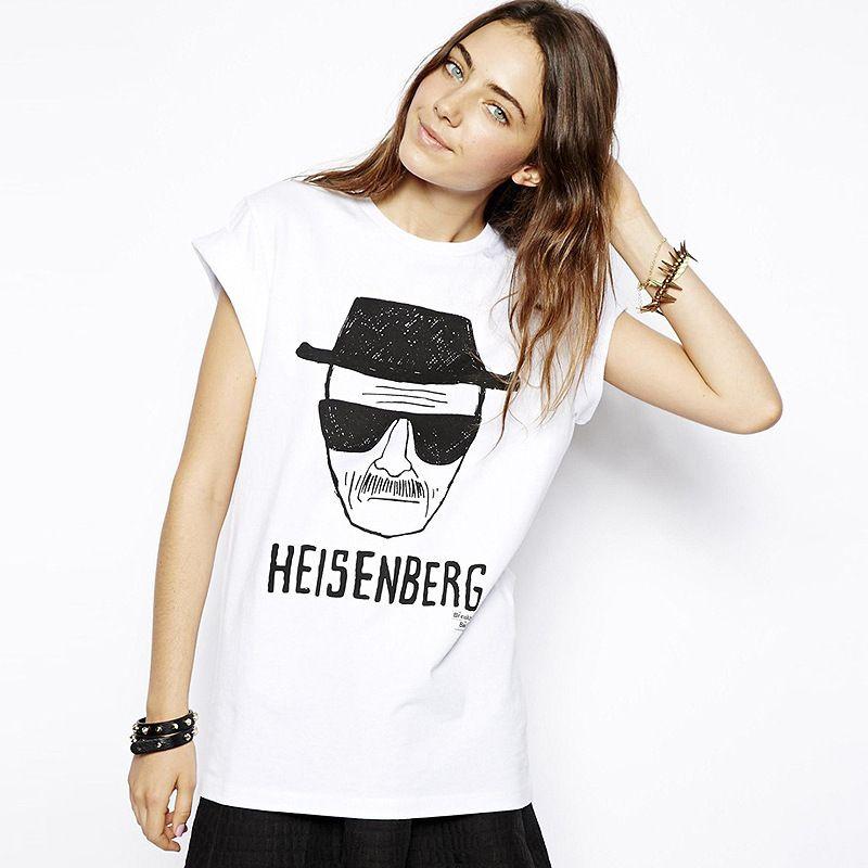 1002aa3cfe1 Printed Fashion Heisenberg Short Sleeves Loose T Shirts Quality ...