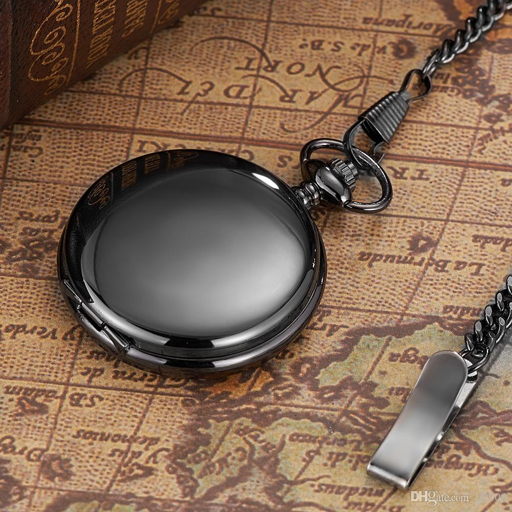 NUEVA llegada OYW caja de acero reloj del hombre del reloj de bolsillo mecánico de la mano del viento Marca Hombres esquelético retro colgante de la vendimia Diseño inoxidable
