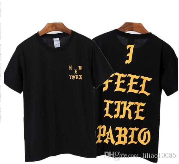 Kanye West Mens T Shirt Yeezus Season 3 I Feel Like Pablo ...