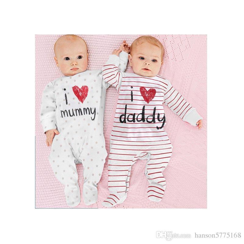 Großhandel Babykleidung Jungen Mädchen Body Suit Designer Overall ...