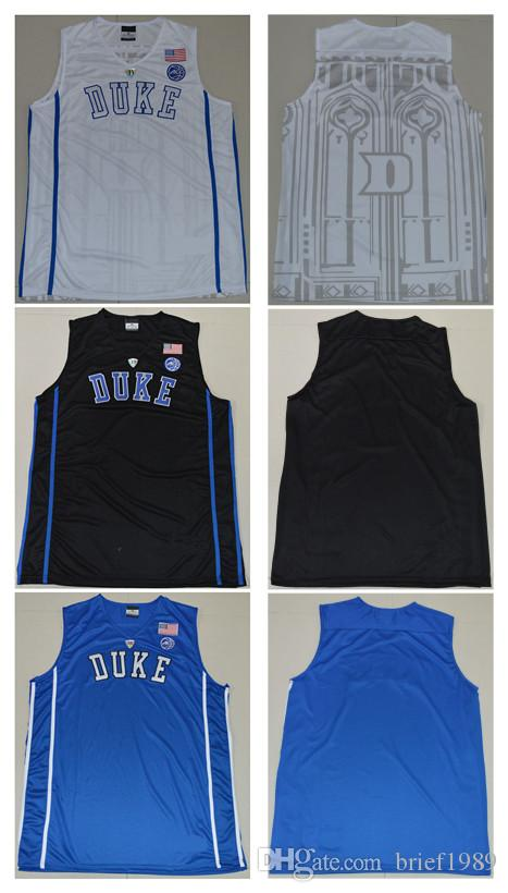 2019 Customize Any Name Number Duke College Basketball Jerseys White