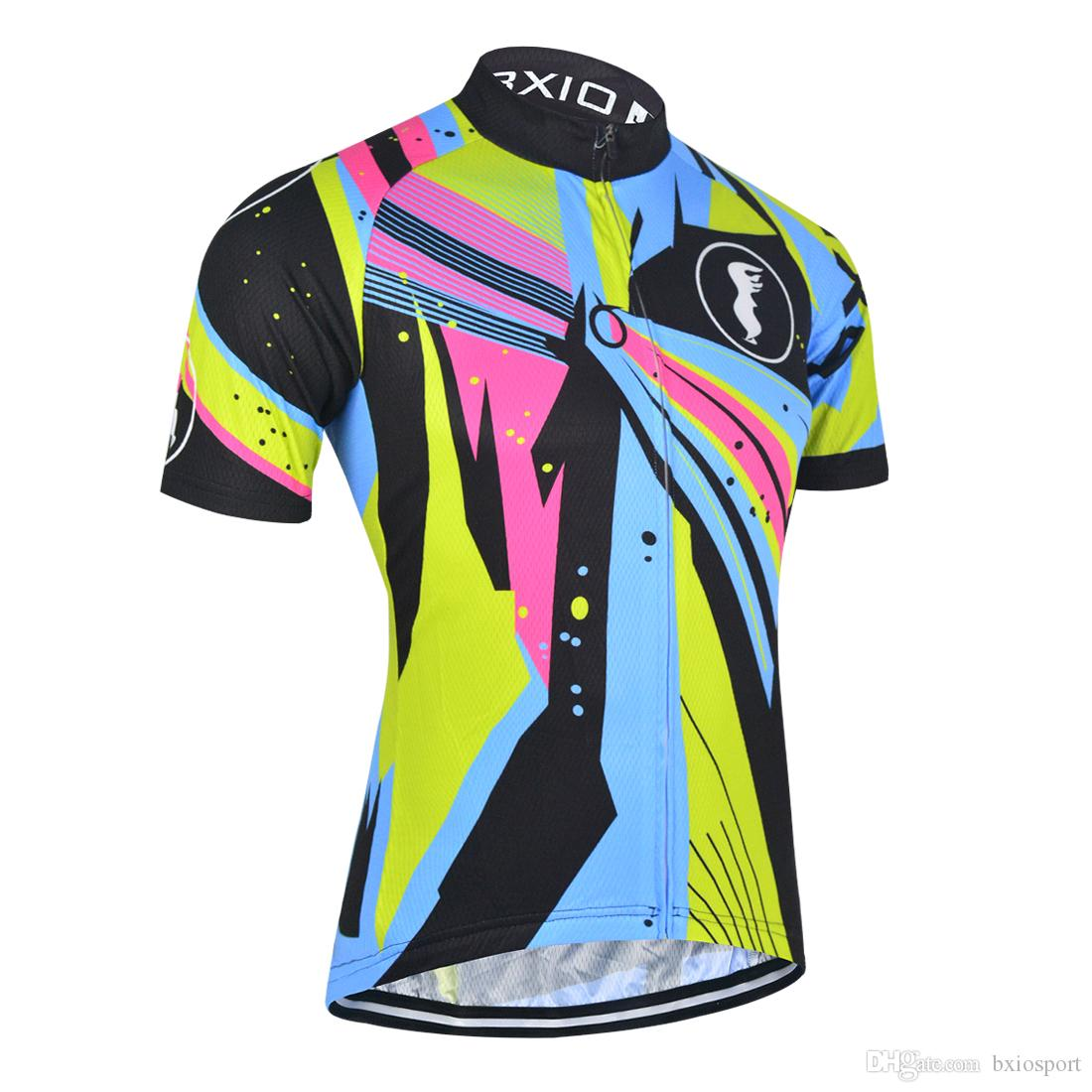 3462dfe9f BXIO Recommende Colorful Cycling Shirts High Quality Cycling Tops ...