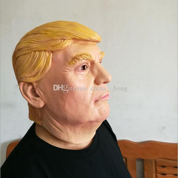 Оптовая маскарадные маски кандидат в президенты США г-н Трамп латексная маска латексная маска миллиардер президентский Дональд Трамп латексная маска