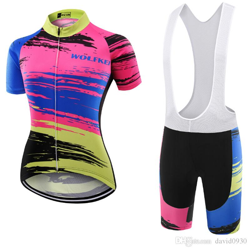 Wolfkei So Cool New Style Ropa Ciclismo Cycling Jersey Breathable Bicycle  Cycling Clothing Quick-Dry Bike Sportswear Women Cycling Clothing Cycling  Clothes ... e17344ec4