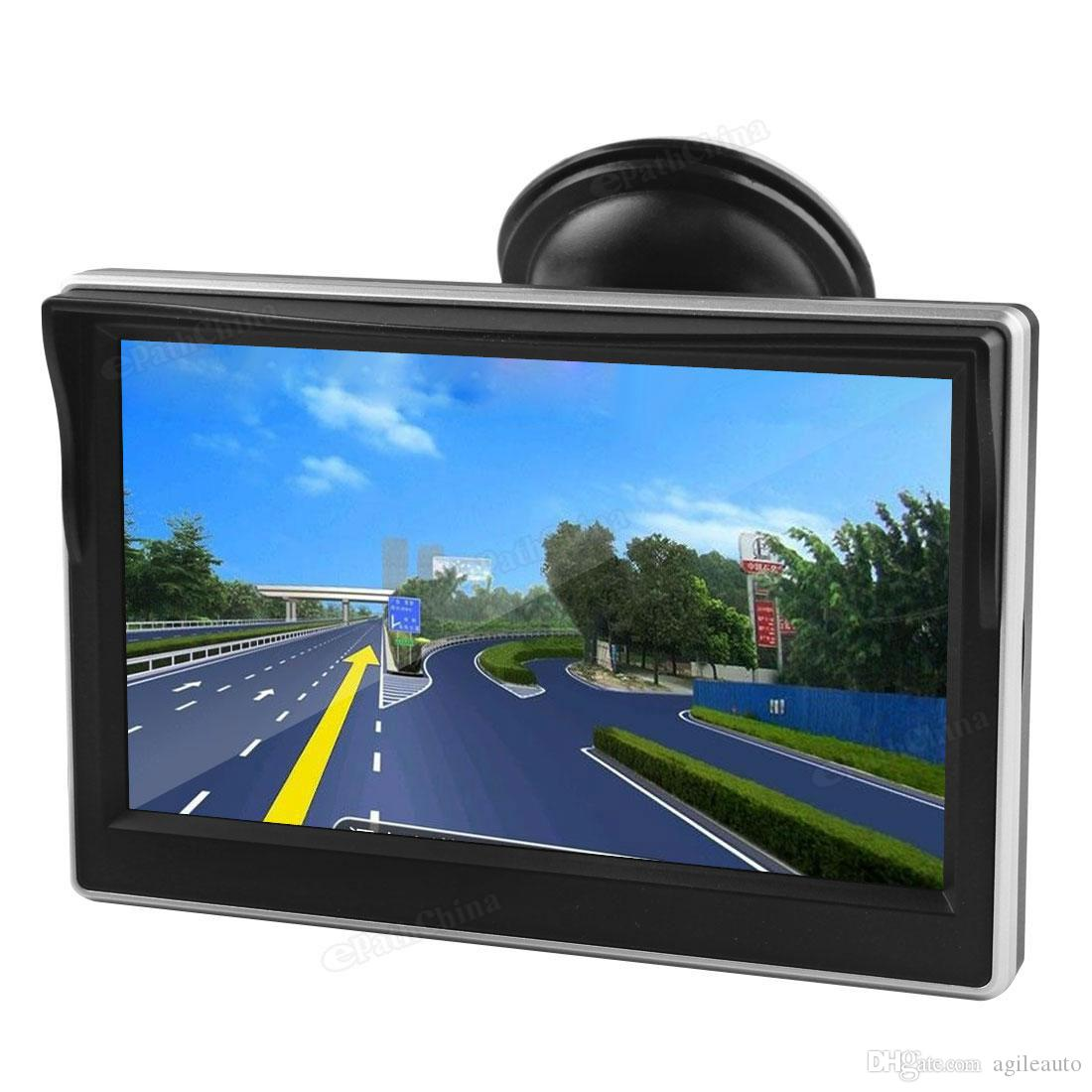 480x272 5 inç Renkli TFT LCD Ekran Geniş Görüş Açısı Araba Dikiz Aynası Monitör CMO_325