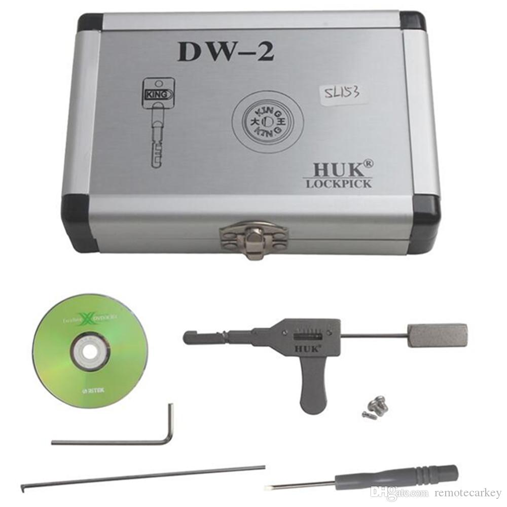 New Arrival HUK Lock Pick Tool for the house lock and bank lock Auto Pick Sets