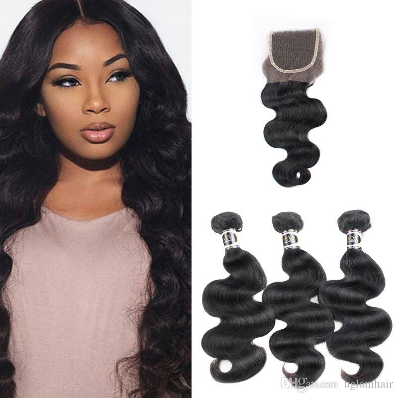 Uglam Hair Brazilian Body Wave Hair Extensions 31 Deal Human Hair