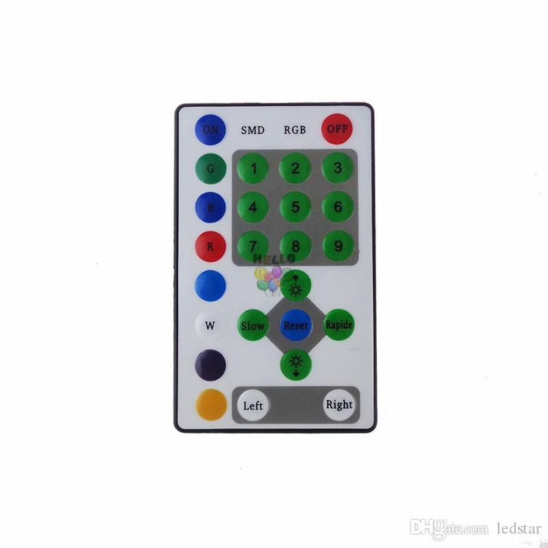 DC12V 25 Keys Controller a distanza a raggi infrarossi ippica LED RGB SMD5050