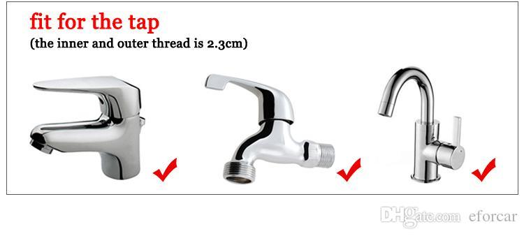 conectores de adaptador de metal para torneira de abastecimento de água lavagem de carro pistola de água adaptador