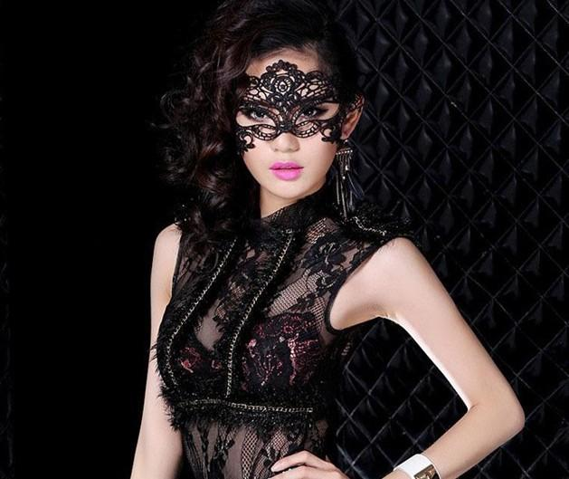 Lace Mask for Christmas Cosplay Party Night Club Halloween Sexy Masquerade Masks kinds of Lace Masks Half Face