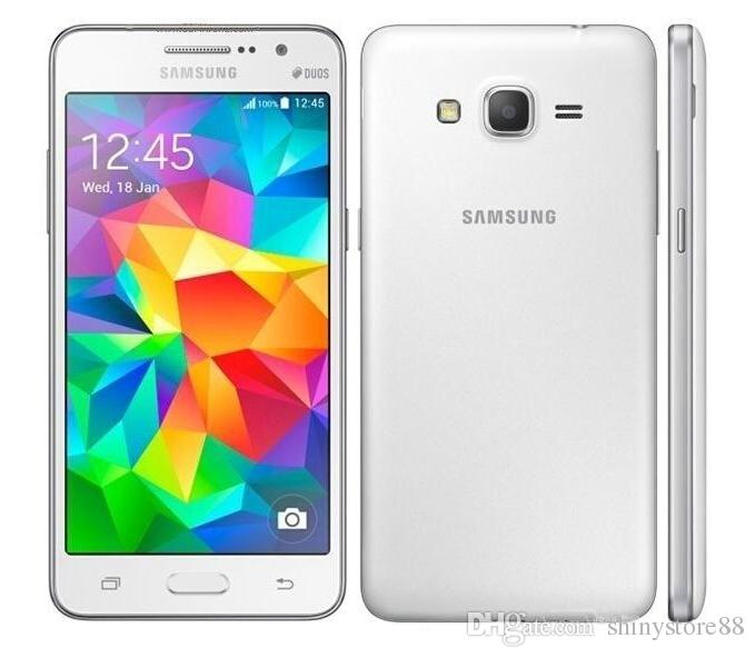 4G LTE Samsung Galaxy Grand Prime G530F Quad Core Core RAM 1 GB ROM 8GB 5,0 pollici 8,0 MP Android4.4 Telefono rinnovato sbloccato