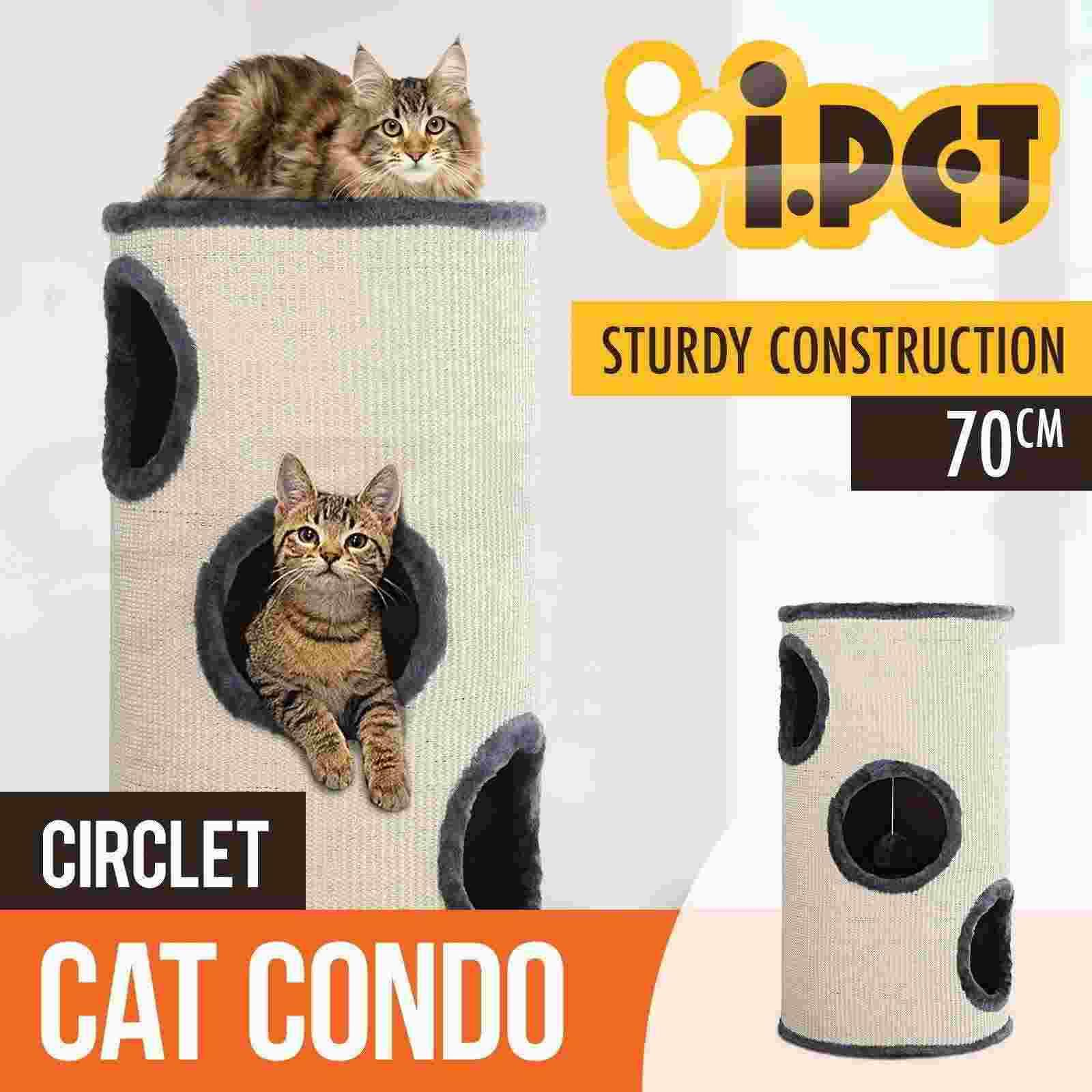 cat scratching post tower tree scratcher condo pole house furniture barrel 70cm from snoopy710 dhgatecom