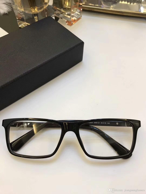 d0d6509c372 New Designer Glasses Frame Clear Lenses 06SV Men Women Brand Eyeglasses  Frame Fashion Diamond Plank Frames Eyewear Frames with Original Case Glasses  Frame ...
