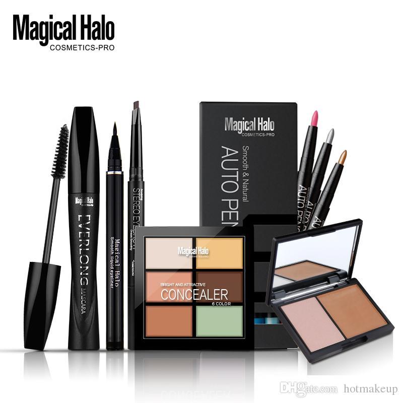 Magical Halo Eyebrow Pencil Mascara Eyeliner Pen Double Color