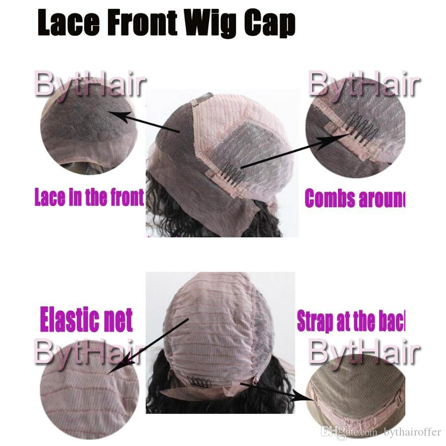 Bythair Free Part Kinky Curly Full Lace Wig Unprocessed Human Hair Lace Front Wigs Brazilian Kinky Afro Wigs Black Women With Baby Hair