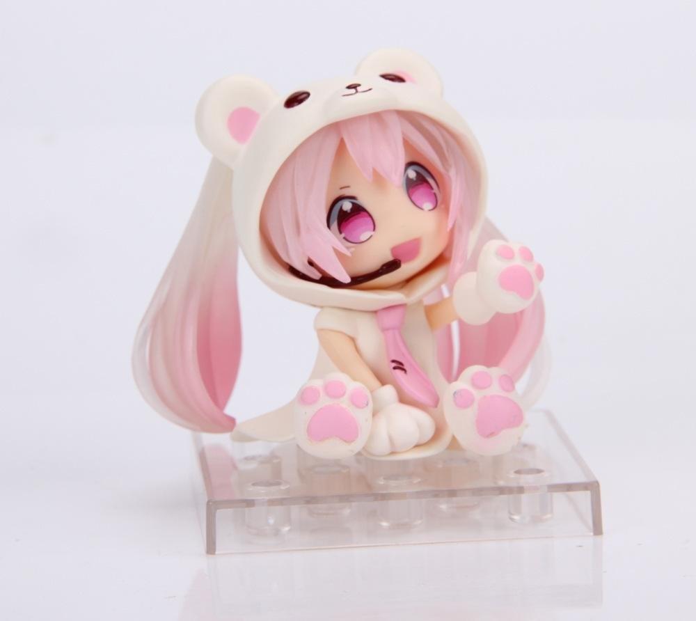 Grosshandel Anime Chibi Hatsune Miku Weisser Bar Ver Figur Spielzeug Figma Mit Roter Farbe Gutes Geschenk Und Sammlung Von Tans Boy