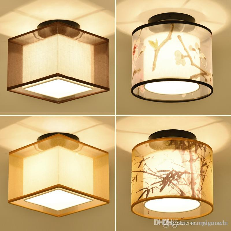 2017 New Chinese Style Ceiling Light Balcony Corridor Entrance