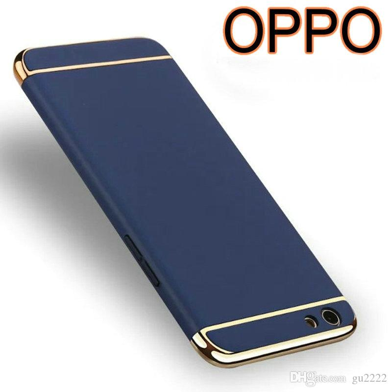 wholesale dealer 7084b 26f00 OPPO R9S case back cover Fashion Luxury Thin Case PC Electroplating Cover  for oppo R9 plus For OPPO R9 Plus Accessory