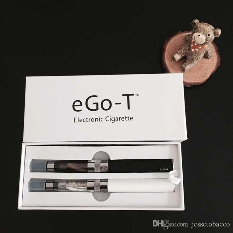 Double eGo CE4 Starter Kit E Cigarette 650 900 1100mAh eGo t battery CE4 Clearomizer E Cig Set Gift Box