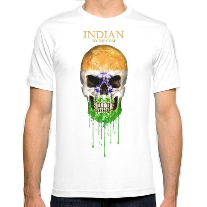 75300d24 India Flag New Fashion Man T-Shirt Cotton O Neck Mens Short Sleeve ...