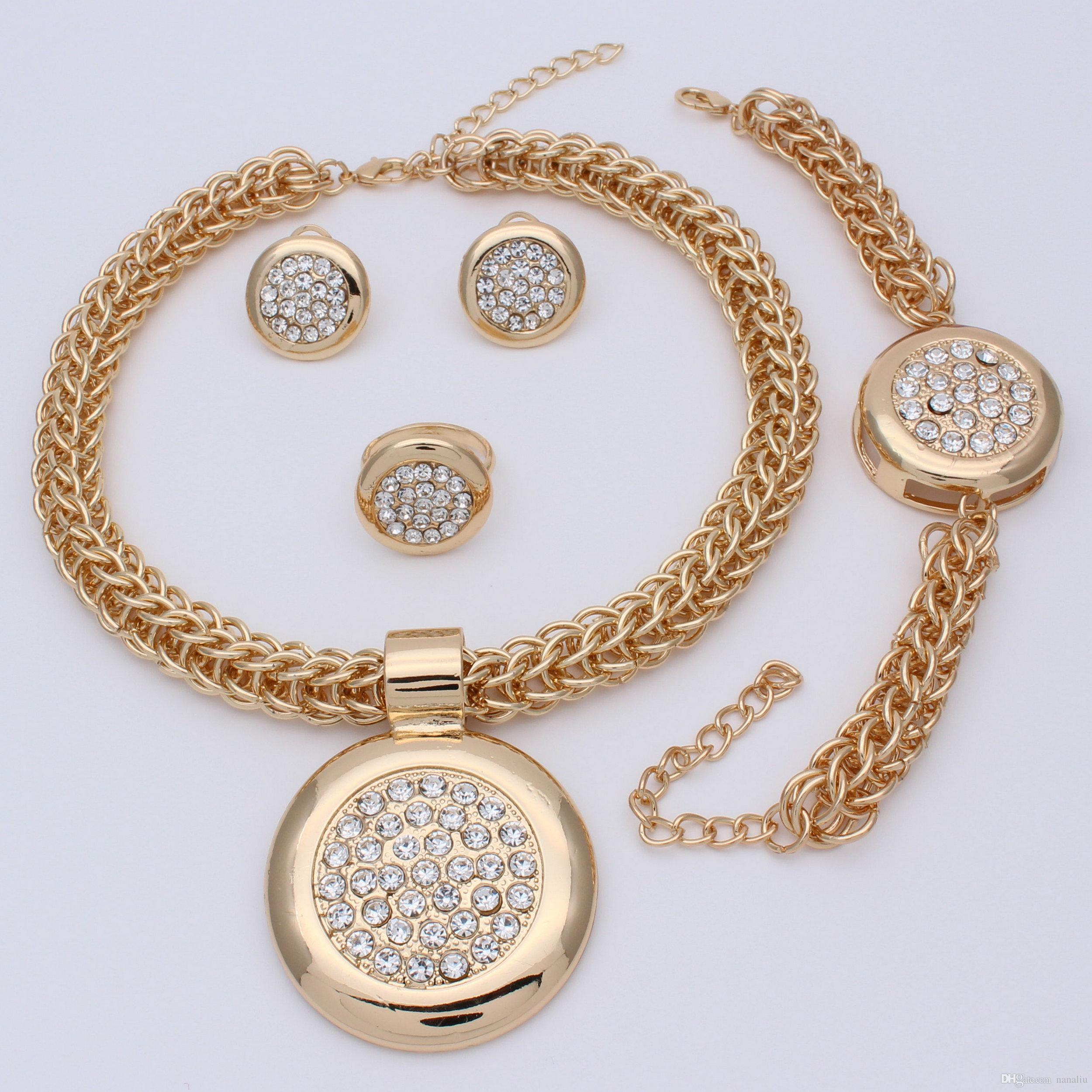 gold set l necklace jewelry the sets