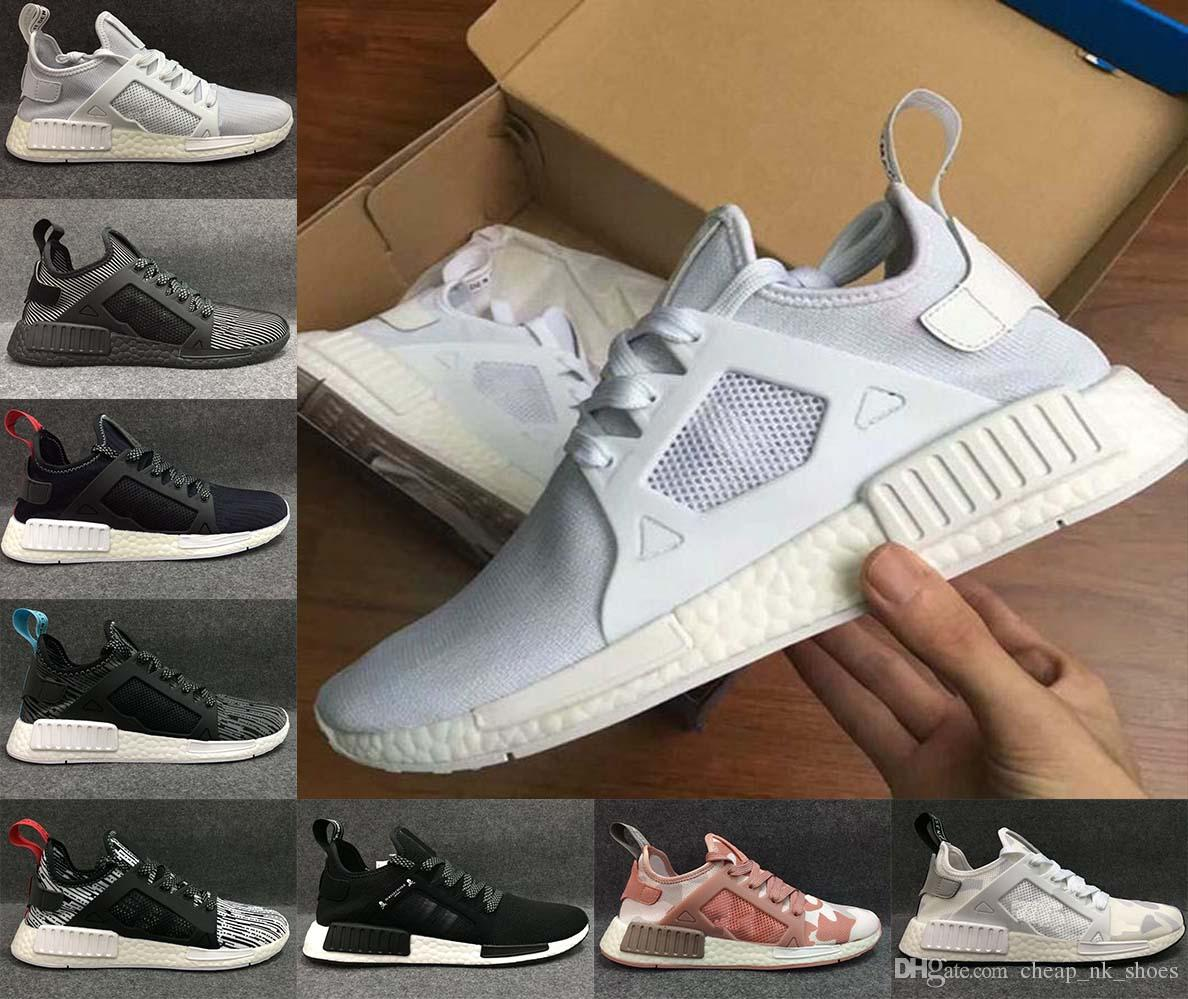Adidas Shoes Nmd Blue. Adidas NMD_XR1 Shoes Trace Blue