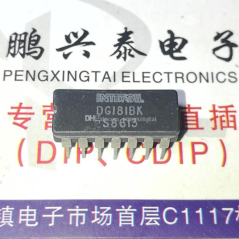 DG181BK , DG181BP , JM38510/11101 , Interface IC / DG181 . dual in-line 14 pins ceramic package. CDIP14 / integrated circuit Components chip