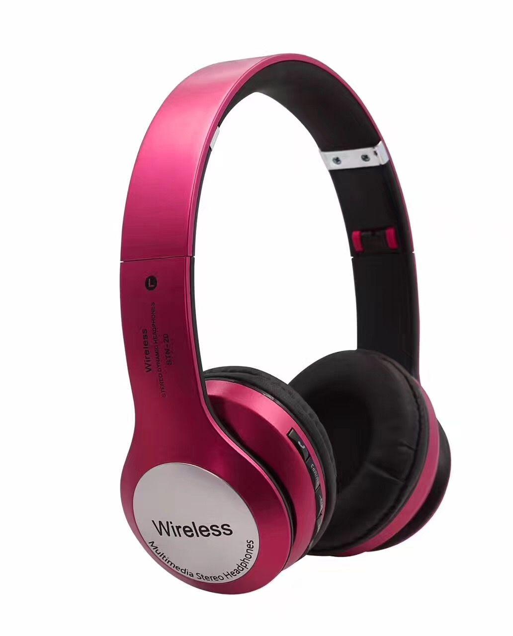 2017hot drahtlose stereo bluetooth headset kopfhörer drahtlose stirnband headest für lg iphone 7 samsung s7 tragbare drahtlose mp3 player headest
