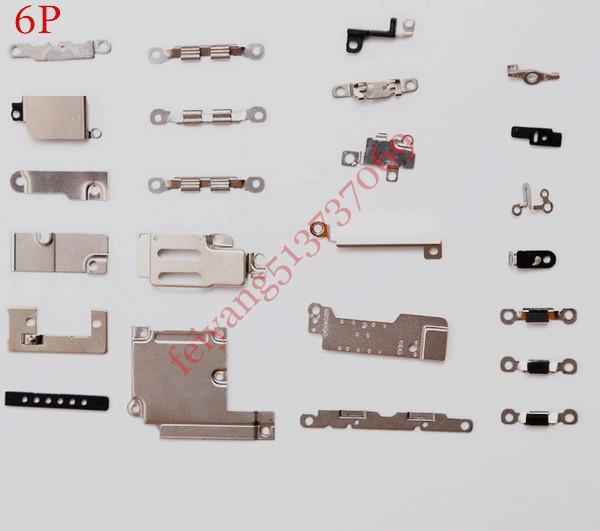 Original 24 in 1 Repair Parts Inner Accessories Small Parts Metal for iPhone 6 6 plus Fastening Brackets Replacement
