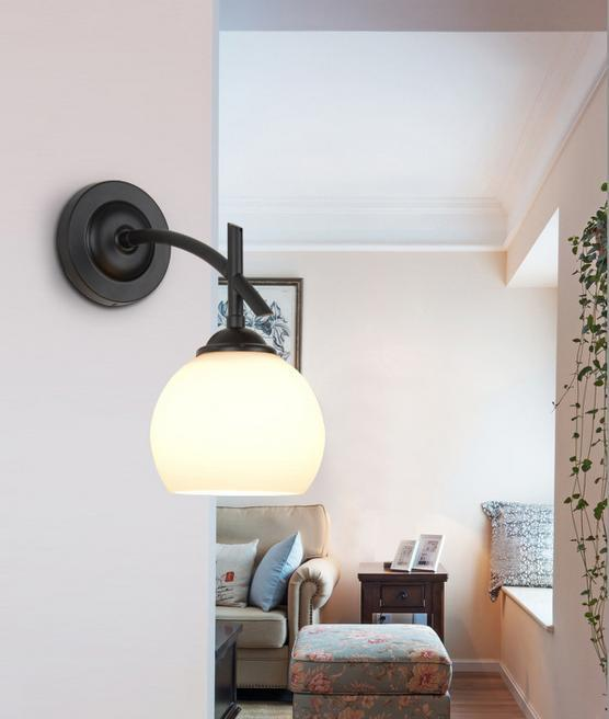 modern wall lights for living room. See larger image 2018 220v High Quality Class Lamp Shade Iron Modern Wall Lamps