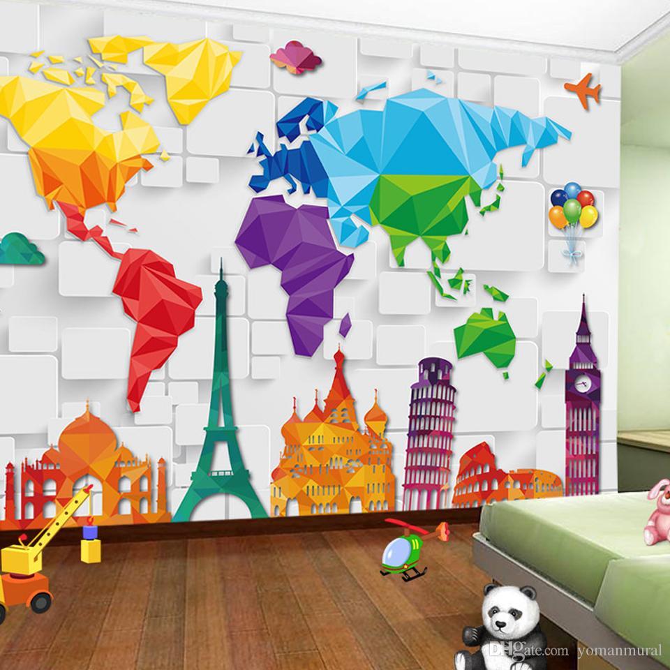 Custom Size 3d Wall Murals Anime Wallpaper For Living Room Children S Bedroom Toy Store Non Woven Mural Wallpaper Decor