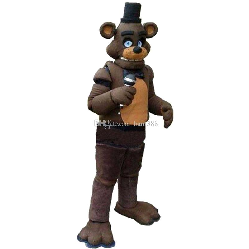 Five Nights At Freddyu0027S Fnaf Toy Creepy Freddy Fazbear Mascot Costume Suit Halloween Christmas Birthday Dress Adult Size Blue Fox Dog Mascot Costumes Mascot ...  sc 1 st  DHgate.com : kids freddy costume  - Germanpascual.Com