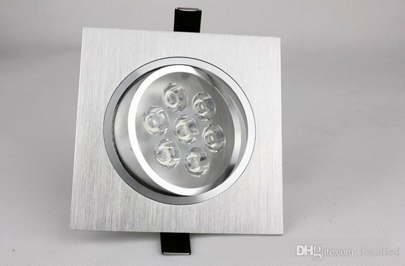 Commercio all'ingrosso di alta potenza 15 w 21 w led da incasso a soffitto led da incasso spot luci dimmerabile led lampada AC110-240v bianco caldo 3000 K 60angle