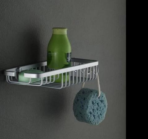 Home Storage & Organization Storage Holders & Racks Solid bathroom shelf bathroom shelf space aluminum bathroom rack hook