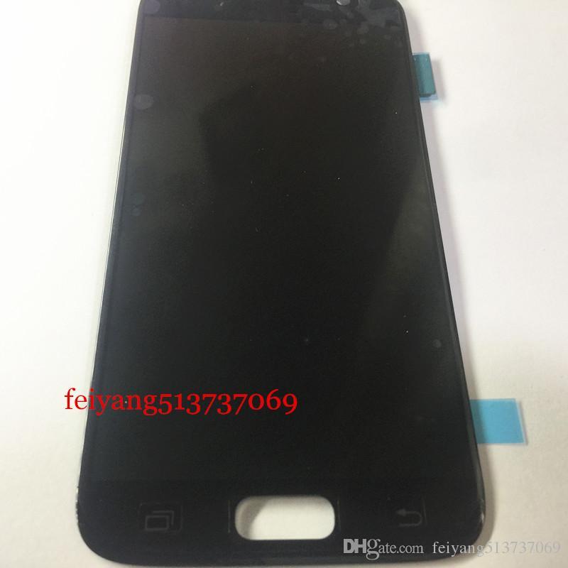 Samsung Galaxy S7 için 10 adet Orijinal G930 G930F G930A G930V G930P G930T G930R4 G930W8 LCD ekran dokunmatik ekran digitizer meclisi ile