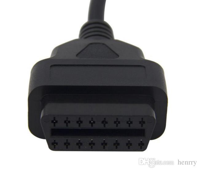 MB 14Pin Male To OBD OBD2 OBDII 16 Pin 16Pin Female For Benz Sprinter For VW LT 14Pin