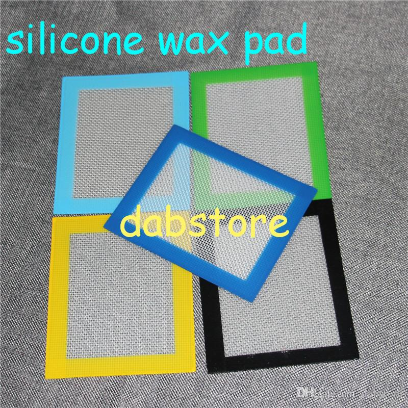 2016 Factory Price Silicone Mats Food Grade Non-stick Silicone Baking Mat For Wax -5.5x4.5 Inch