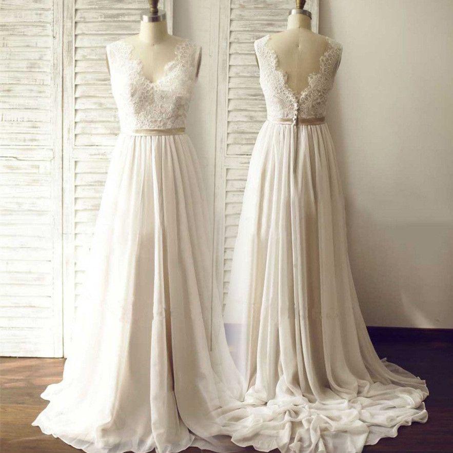 Discount Designer Wedding Gowns: Real Photos Sheer Wedding Dresses Designer 2017 Cheap Open