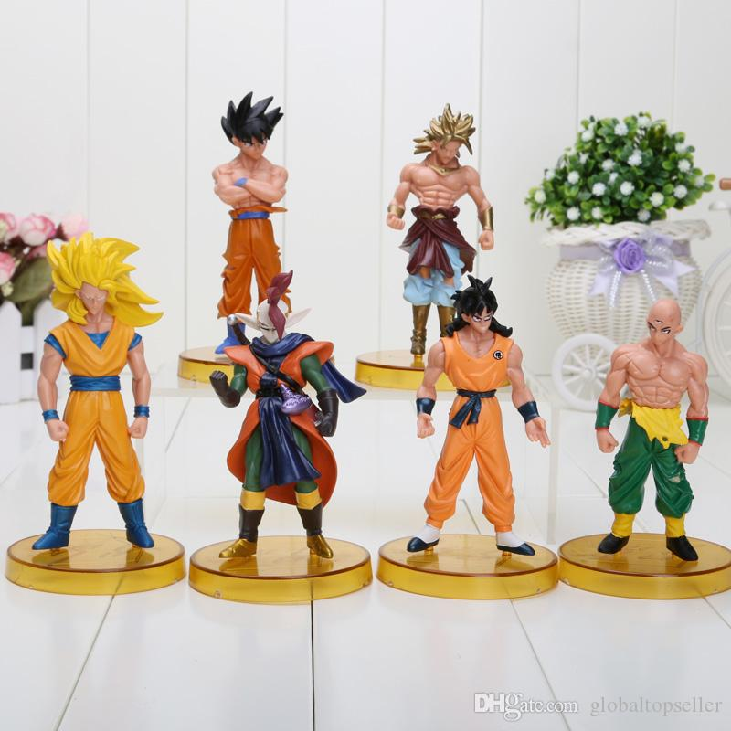 New 12cm dragon ball Z goku figure action set of 6 kids dragonball figure free shipping